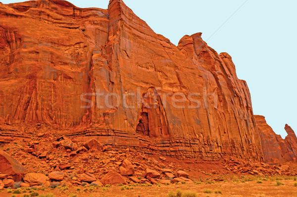 Kumtaşı çöl vadi Arizona doğa Stok fotoğraf © wildnerdpix