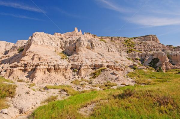 Badlands Panorama Stock photo © wildnerdpix