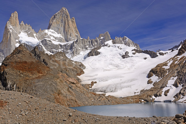 Spectacular Alpine Panorama Stock photo © wildnerdpix
