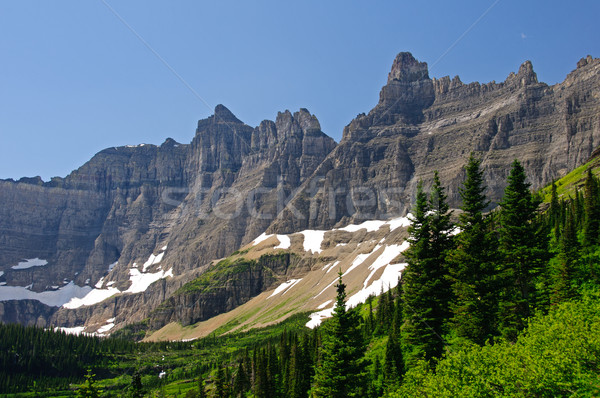 Crags of the Mountain West Stock photo © wildnerdpix