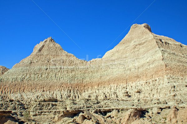 Escarpment wall in the Badlands Stock photo © wildnerdpix