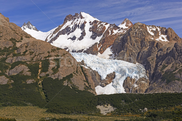 Glaciers and Mountains of the Southern Andes Stock photo © wildnerdpix