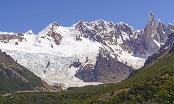 гор льда удаленных природного Аргентина Сток-фото © wildnerdpix