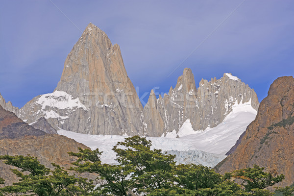 Jagged Peaks on a Sunny Day Stock photo © wildnerdpix