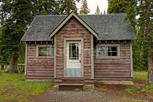 Remote Cabin in the Wilderness Stock photo © wildnerdpix