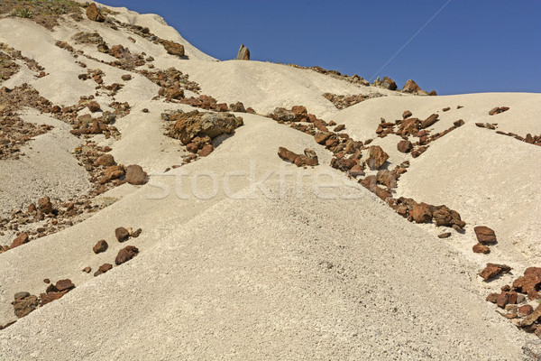Colorful Eroded Rock on Volcanic Ash Stock photo © wildnerdpix