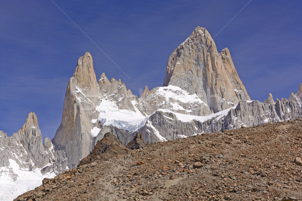 High Peaks Appearing over the Ridge Stock photo © wildnerdpix