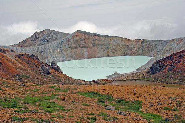 The Kusatusu-Shirane Caldera Stock photo © wildnerdpix