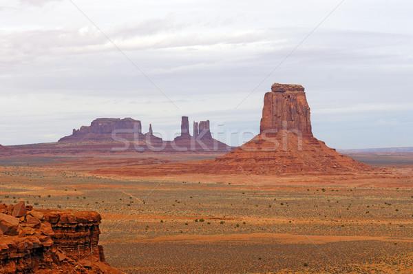 Red Rock Country Panorama Stock photo © wildnerdpix
