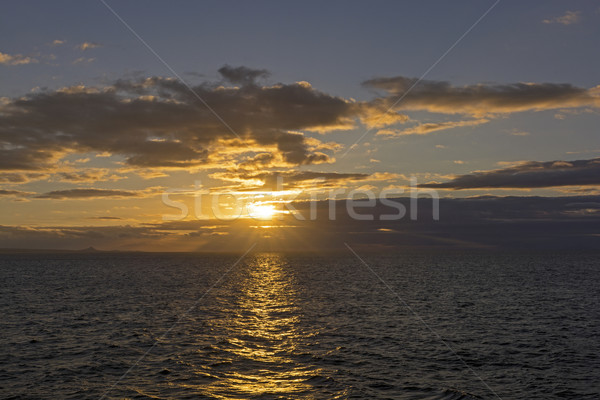 Sunset in the Galapagos Islands Stock photo © wildnerdpix