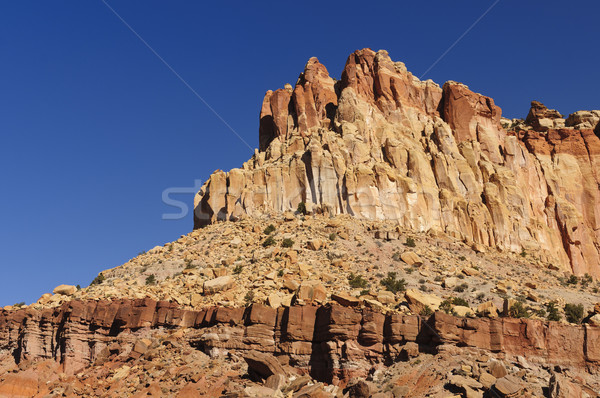 Red Rock Escarpment in the Southwest Stock photo © wildnerdpix