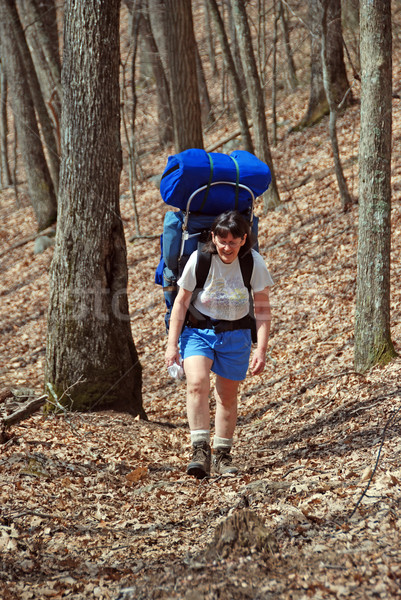 Stock photo: Backpacking in the Smokies
