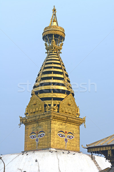 Santuario complesso costruzione torre religione tempio Foto d'archivio © wildnerdpix