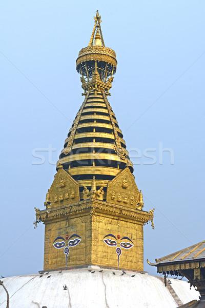 Complexe bâtiment tour religion temple Photo stock © wildnerdpix