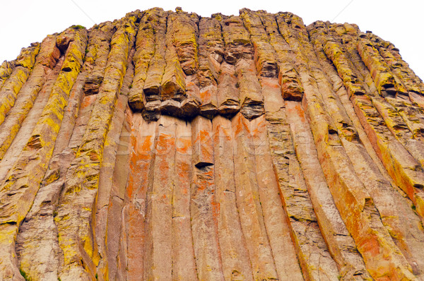 Jagged Columns in a Volcanic Monolith Stock photo © wildnerdpix