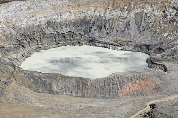 アクティブ 火山 公園 コスタリカ 自然 風景 ストックフォト © wildnerdpix