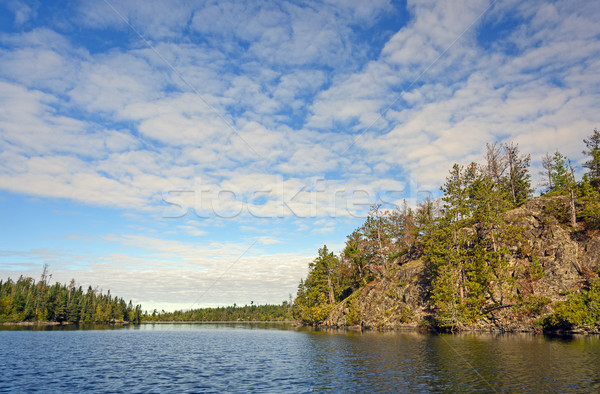 High Clouds over Canoe Country Stock photo © wildnerdpix