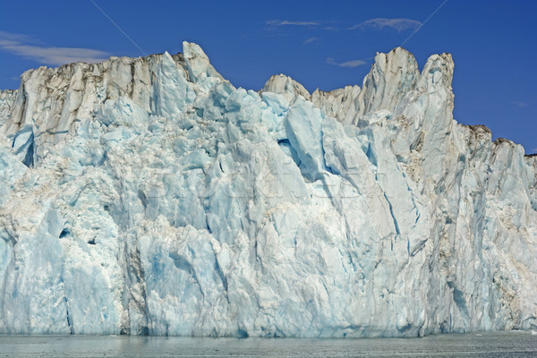 Ice Face of a Tidewater Glacier Stock photo © wildnerdpix