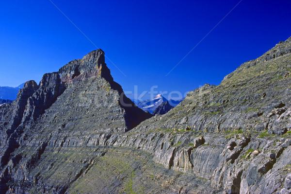 Stok fotoğraf: Yüksek · sabah · ışık · Hint · buzul · manzara