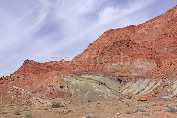 Stok fotoğraf: Renkli · kayalar · çöl · feribot · kanyon