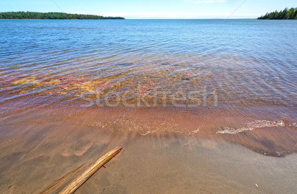 Colorful, Calm Bay on a Summer Day Stock photo © wildnerdpix