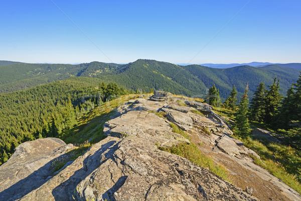 Ver montanha avó Idaho paisagem montanhas Foto stock © wildnerdpix