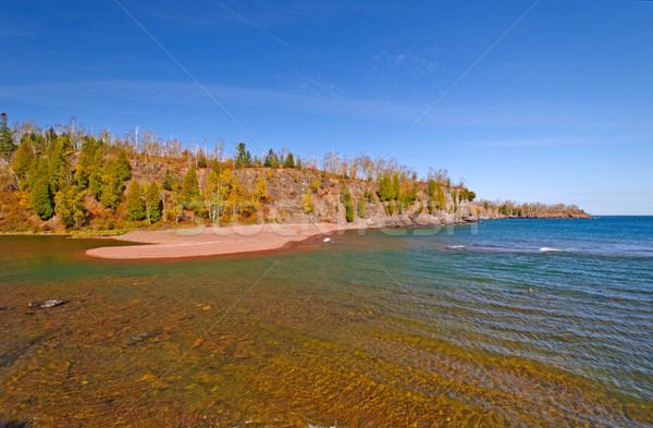 Where the river enters the Great Lakes Stock photo © wildnerdpix
