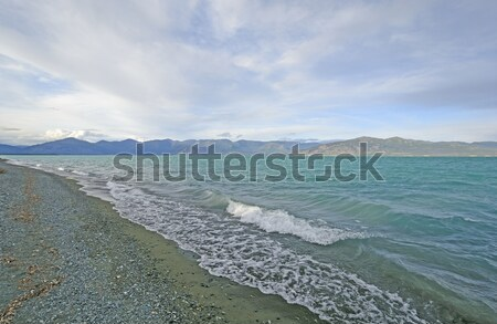 Colorful Water and Mountains in the Wilds Stock photo © wildnerdpix