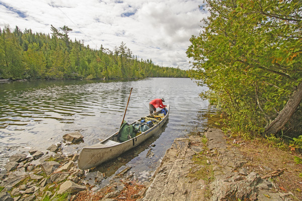 Getting the Gear set After a Portage Stock photo © wildnerdpix