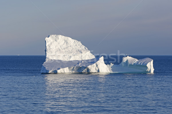 Contrasting LIght on an Ocean Iceberg Stock photo © wildnerdpix