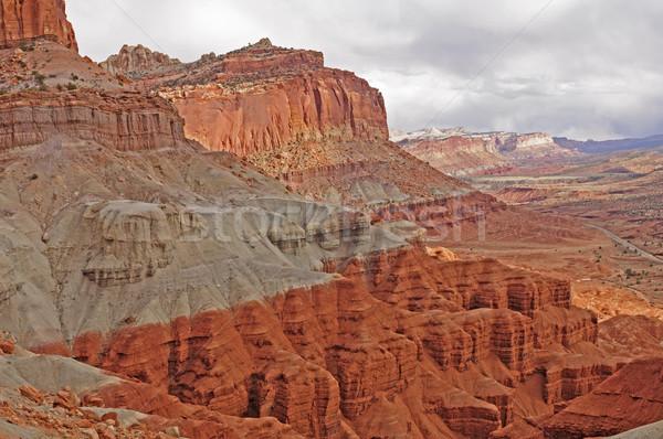 Dramatic Cliffs in the American West Stock photo © wildnerdpix
