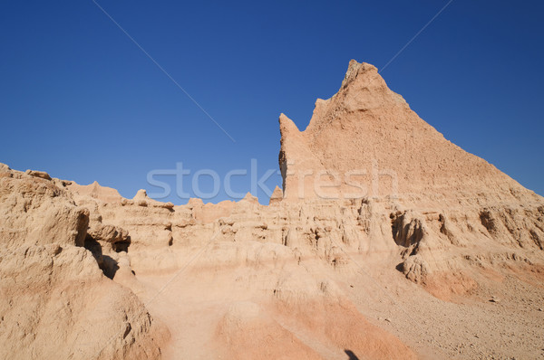 Escarpment in the Badlands Stock photo © wildnerdpix