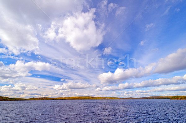 Dramatic Skies in the Boundary Waters Stock photo © wildnerdpix