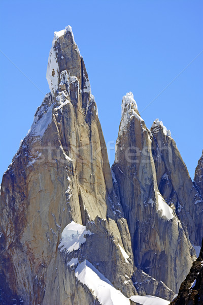 Dramatic Spires in the Andes Stock photo © wildnerdpix
