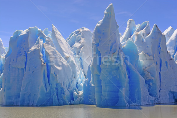 Ice Castles on a Sunny Day Stock photo © wildnerdpix