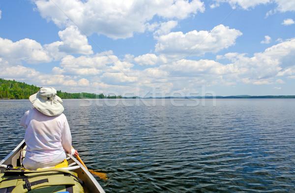 A Sunny Day in Canoe Country Stock photo © wildnerdpix