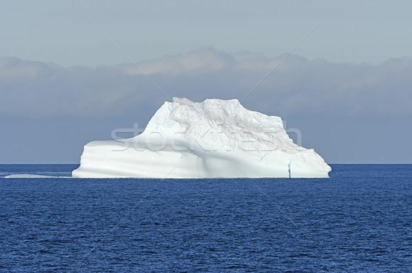 Foto stock: Oceano · icebergue · brilhante · sol · ilha · remoto