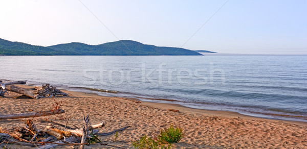 Early Morning on Lake Superior Stock photo © wildnerdpix