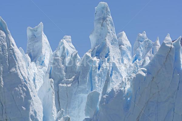 Ghiaccio ghiacciaio muro Argentina remote Foto d'archivio © wildnerdpix