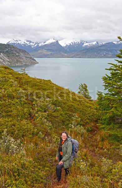 Hiking in Tierra del Fuego Stock photo © wildnerdpix