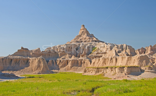 Pinnacle over the Badlands Stock photo © wildnerdpix