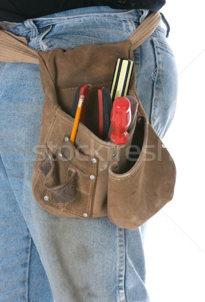 man wearing toolbelt Stock photo © willeecole