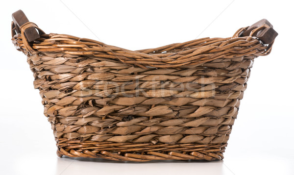 wicker basket Stock photo © willeecole