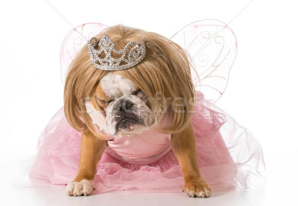 naughty princess Stock photo © willeecole