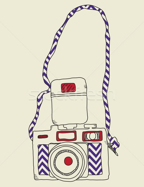 Vintage ontwerp achtergrond Stockfoto © wingedcats