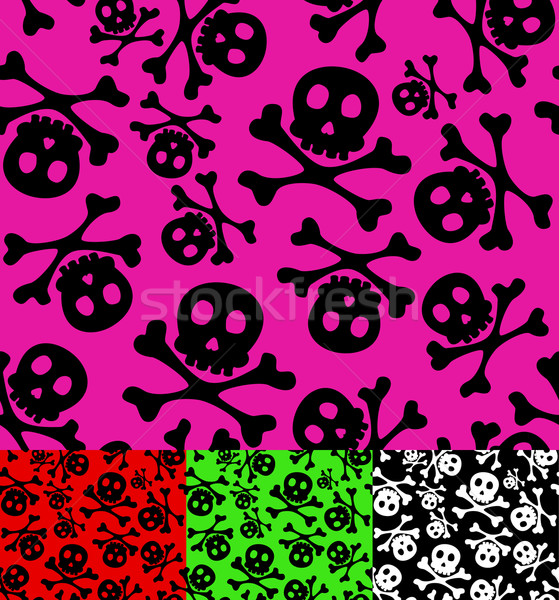skull and crossbones Stock photo © wingedcats