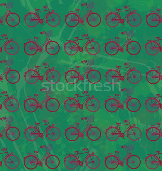 seamles bikes Stock photo © wingedcats