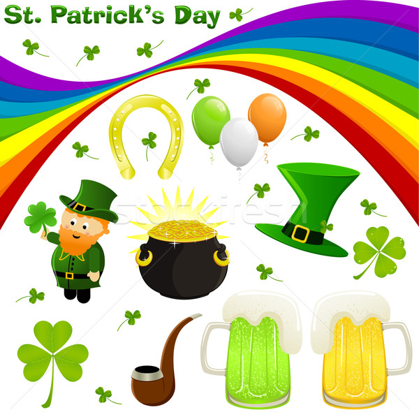 St. Patrick's Day Stock photo © wingedcats