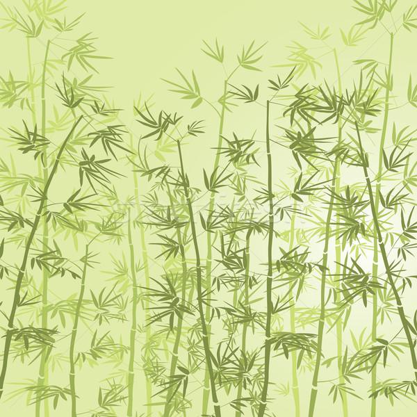 Stockfoto: Bamboe · bos · boom · abstract · natuur · ontwerp