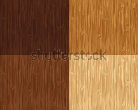 Naadloos houten patroon kleur Stockfoto © wingedcats